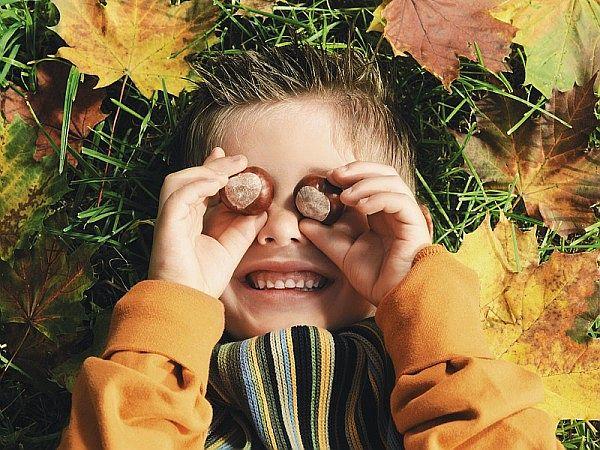 Knutselen met kinderen in de herfst