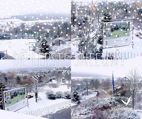 De eerste sneeuw is gevallen!