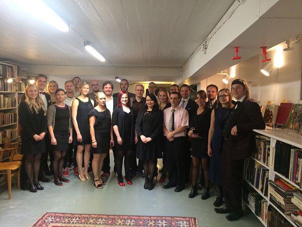 The Academy of Philosophy. Photo: Lauri Järvilehto's personal archives.