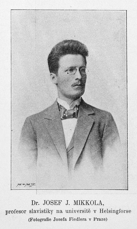 J. J. Mikkola vuonna 1898. Kuvalähde: Wikimedia Commons.