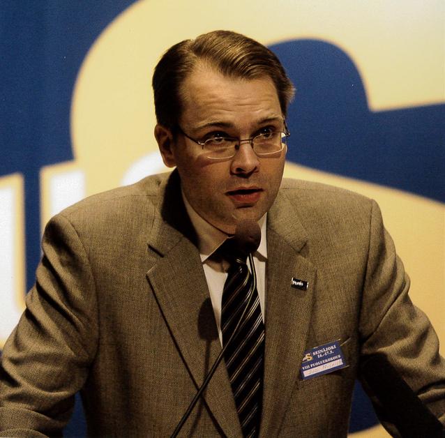 Perussuomalaisten VIII puoluekokouksessa Seinäjoella 2009 aisti nousun ainekset. Kuva Matias Turkkila.