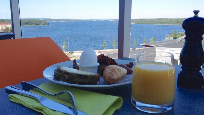 Parempaa aamiaista ei olisi voinut toivoa.