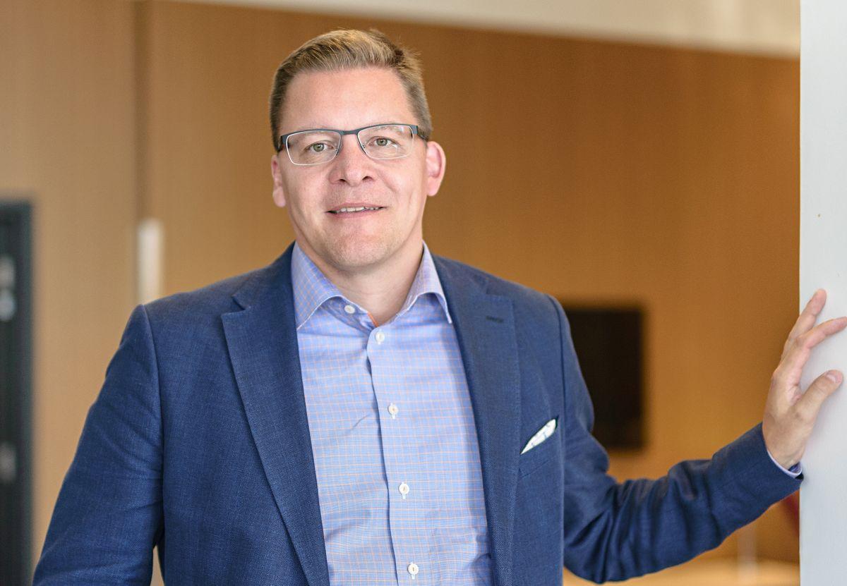 Soneran julkishallinnon liiketoimintajohtaja Krister Kaipio.