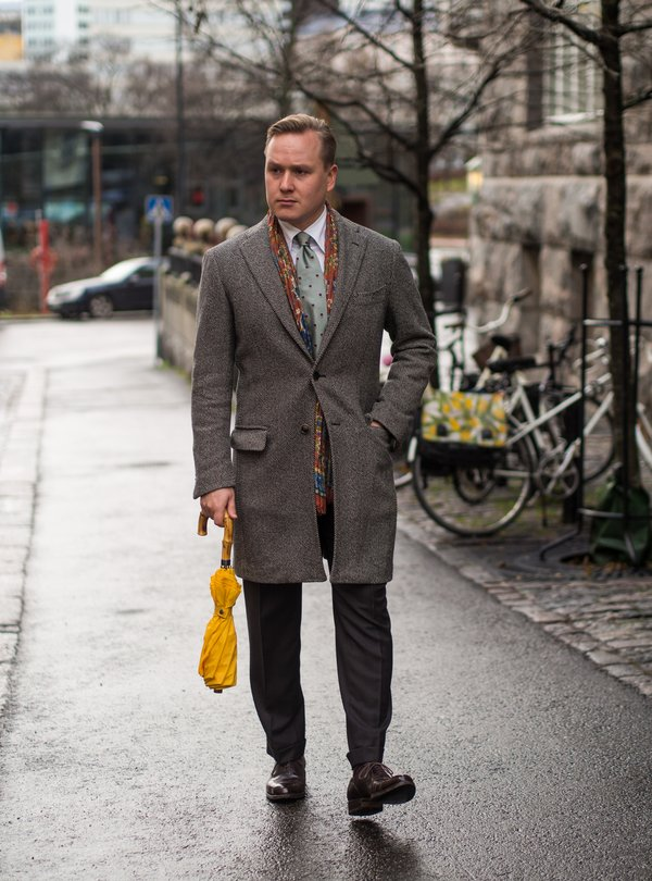 a56170a67 A bespoke made in Naples suit combined with classic accessories and dark  brown Oxford shoes. In essence, this is something I personally would wear  to almost ...