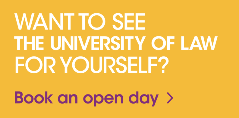 Want to see The University of Law for yourself? Book an open day