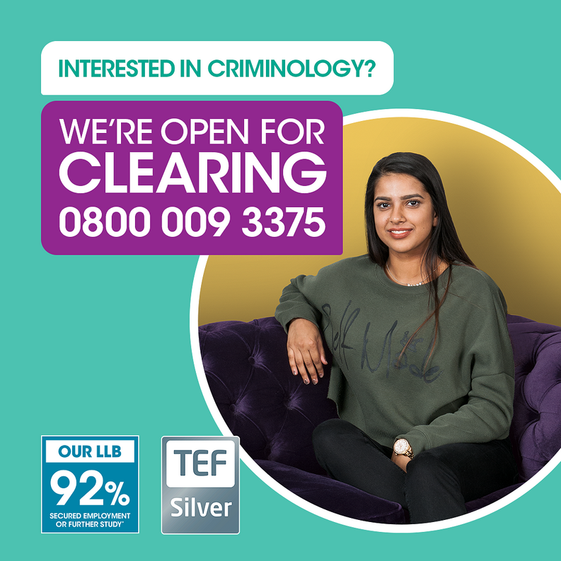 Undergraduate Criminology degrees