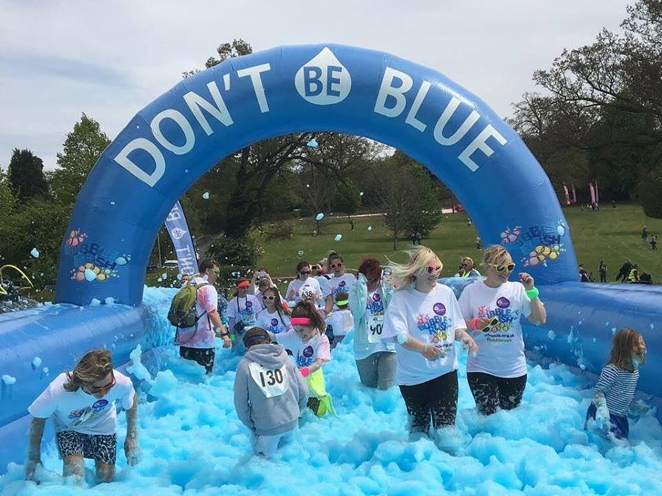 Dont Walk >> Bubble Rush 5k