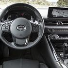 Kuljettajan tila antaa mahdollisuuden nauttia kaikista auton ominaisuuksista.