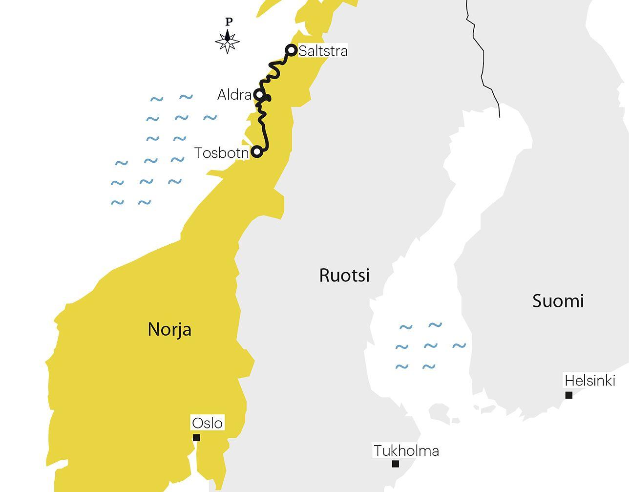 Road Trip Pohjois Norjan Rannikko