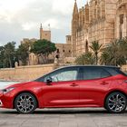 Corolla Hatchback on  virtaviivaisuudessaan näppärä.
