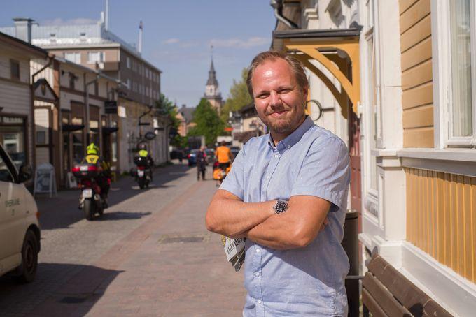 Antti Lehto Kuninkaankadulla