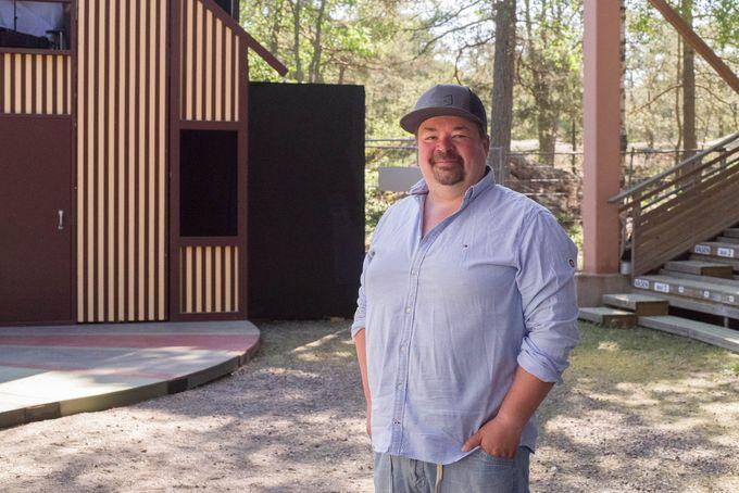 Jani Koskinen Rauman kesäteatterissa