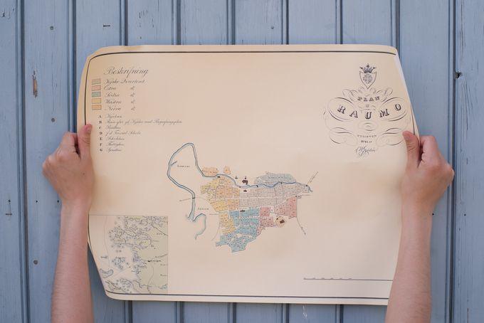 cw gyldenin kaupunkikartta vuodelta 1841