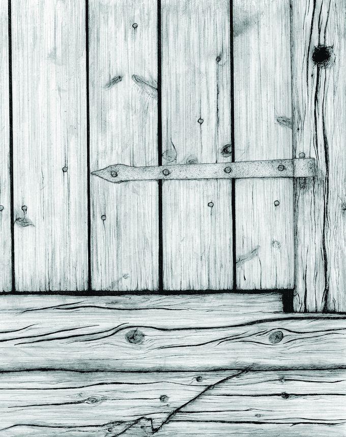 vanhan rauman ovi