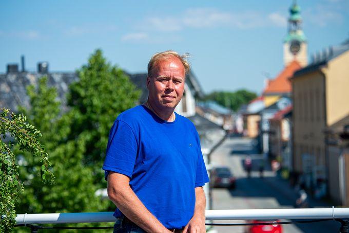 Timo Rajala Ravintola Tifosin kattoterassilla