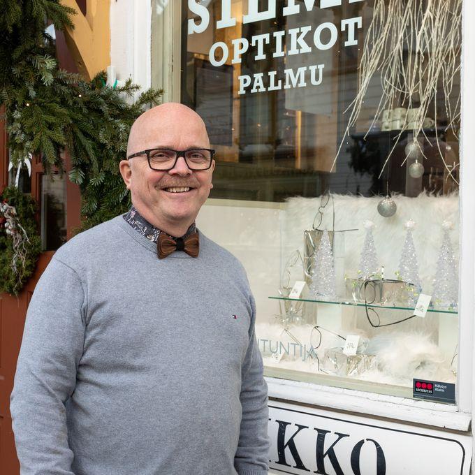 Pekka Palmu, Rakastunut Raumaan