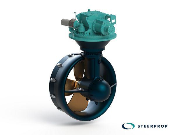 Steerprop delivers six SP 20 WD azimuth propulsion units