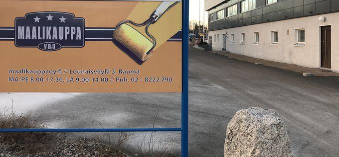 Maalikauppa V&O, Rauma