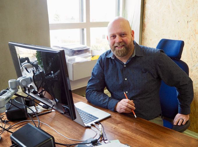 Jere Saarela, yrittäjä ja hankekoordinaattori.