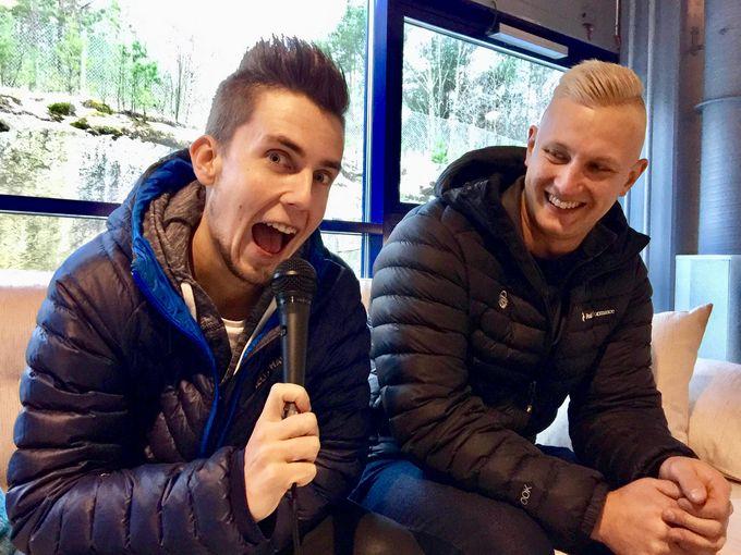 Joel Tervonen ja Mikael Eklöf