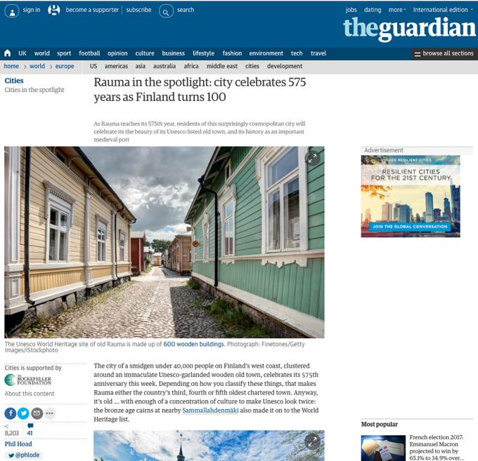 Rauma-artikkeli