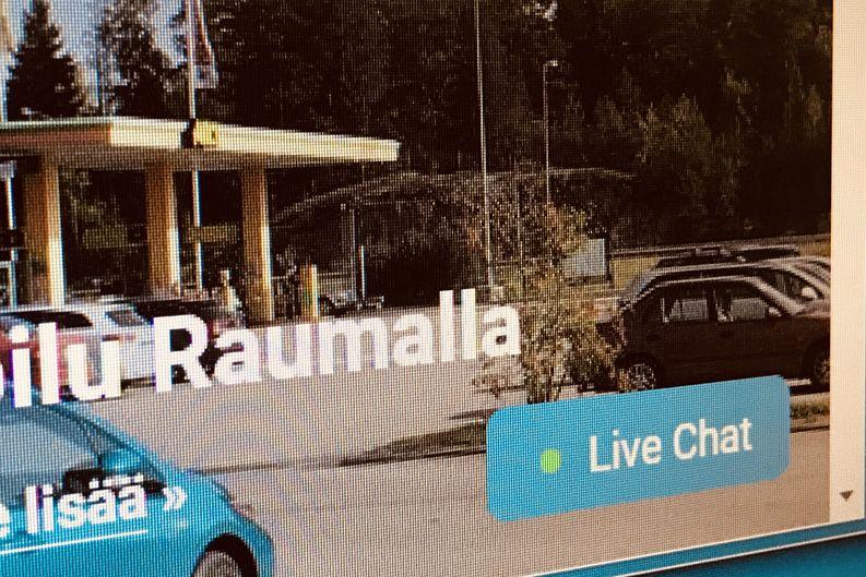 Rauman Energia, live chat