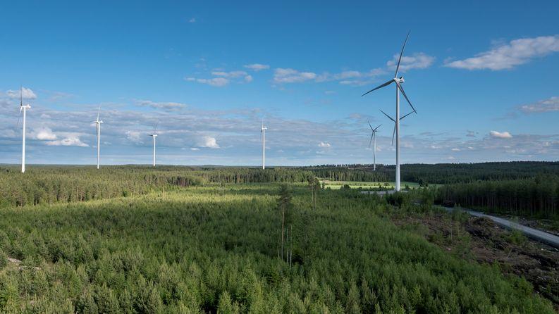 Tuulivoima, Rauman Energia