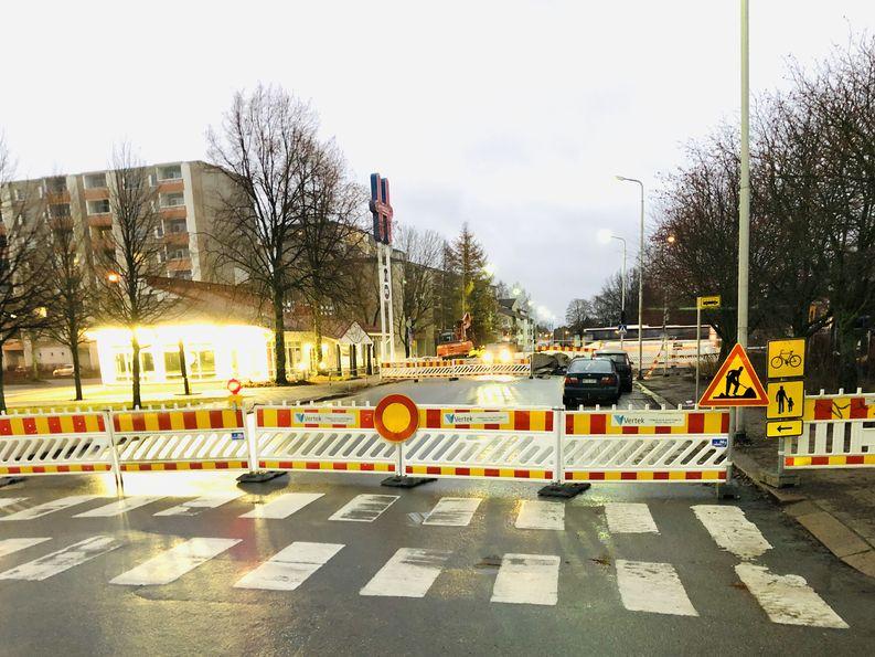 Työmaa, Rauma