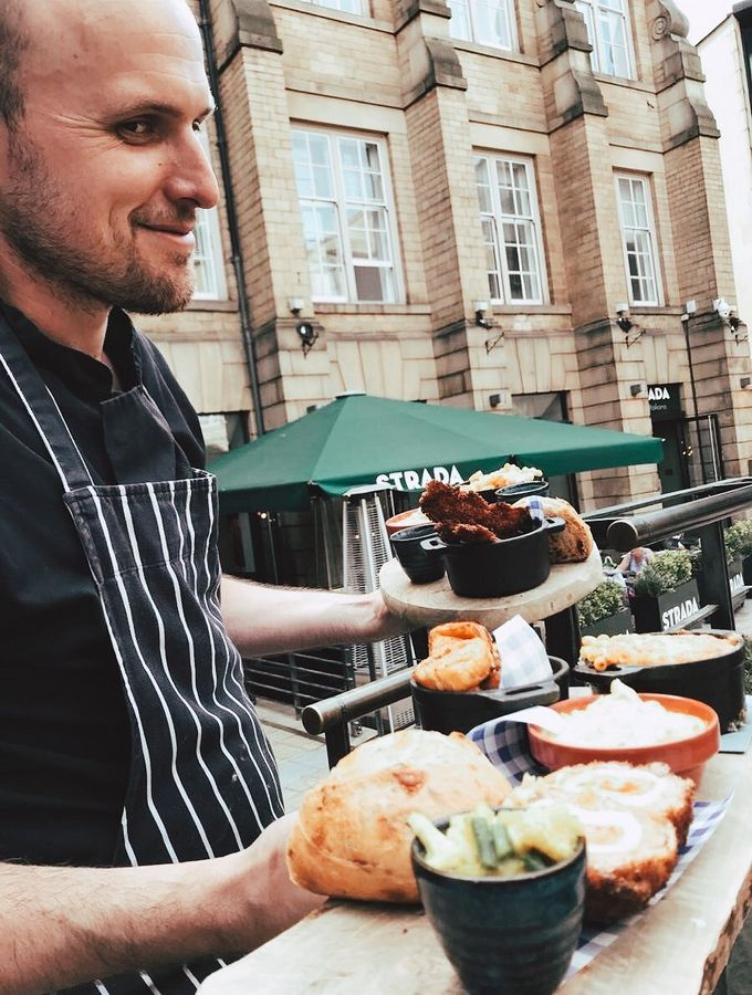 Meet Richard. He's the head chef at The Botanist in Leopold Square.