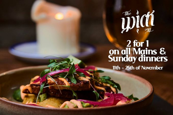 New menu at The Wick At Both Ends, West Street, Sheffield