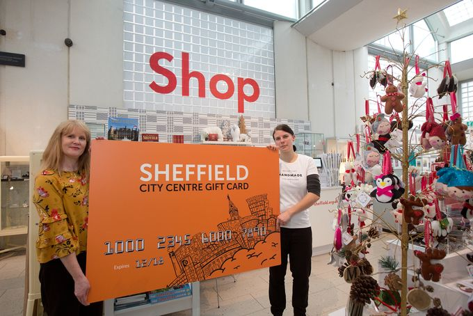 Sheffield Gift Card launched