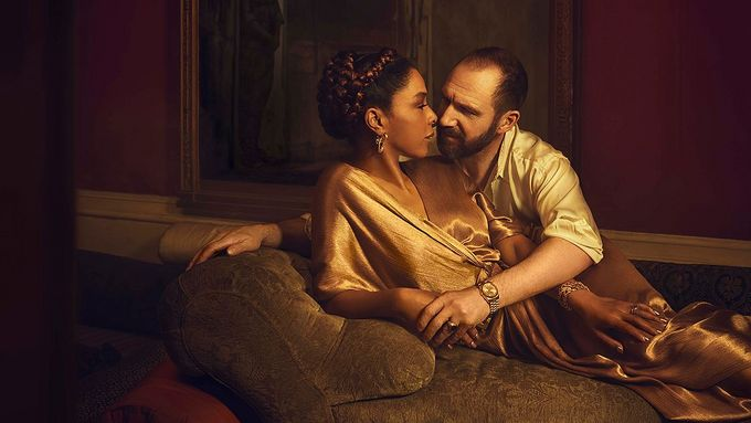 Catch Ralph Fiennes and Sophie Okonedo in your local cinema this Thursday. Photo by Jason Bell.
