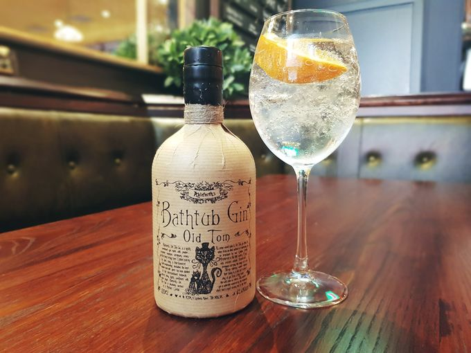 Bathtub Old Tom and all other gins will be half price at The Devonshire on Thursdays from 8pm.