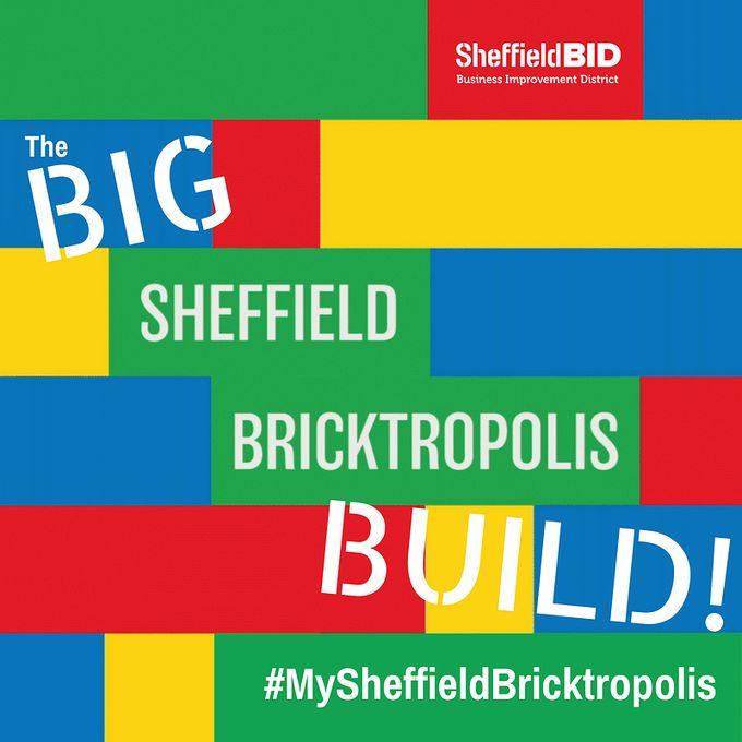 Get creative and build your Sheffield, as Sheffield Bricktropolis lands in the city 4-17 August.