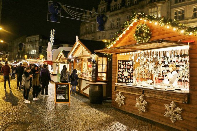 Sheffield Christmas Market on Fargate