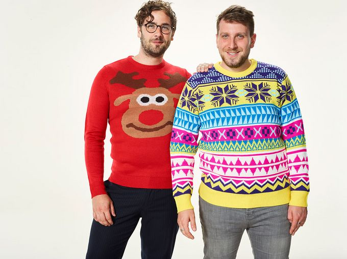 Show them how it's done this Christmas Jumper Day. Photo by Save the Children Fund.