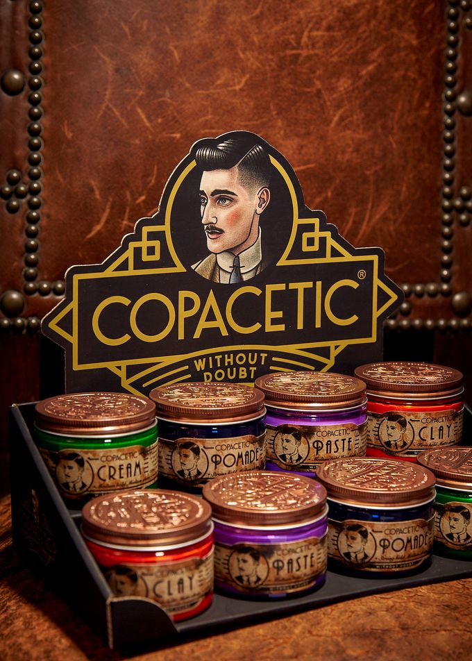 Whether paste, clay, cream or pomade, Copacetic is forged in Sheffield