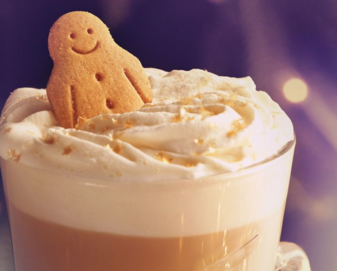 Costa's Gingerbread Latte