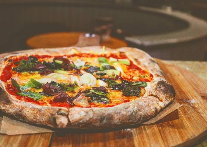 Fancy trying the all new 'Here Comes the Sun' vegan pizza?