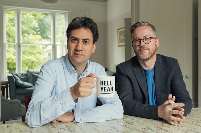 Catch Ed Miliband and Geoff Lloyd in Reasons to be Cheerful on 27 April at the City Hall Ballroom