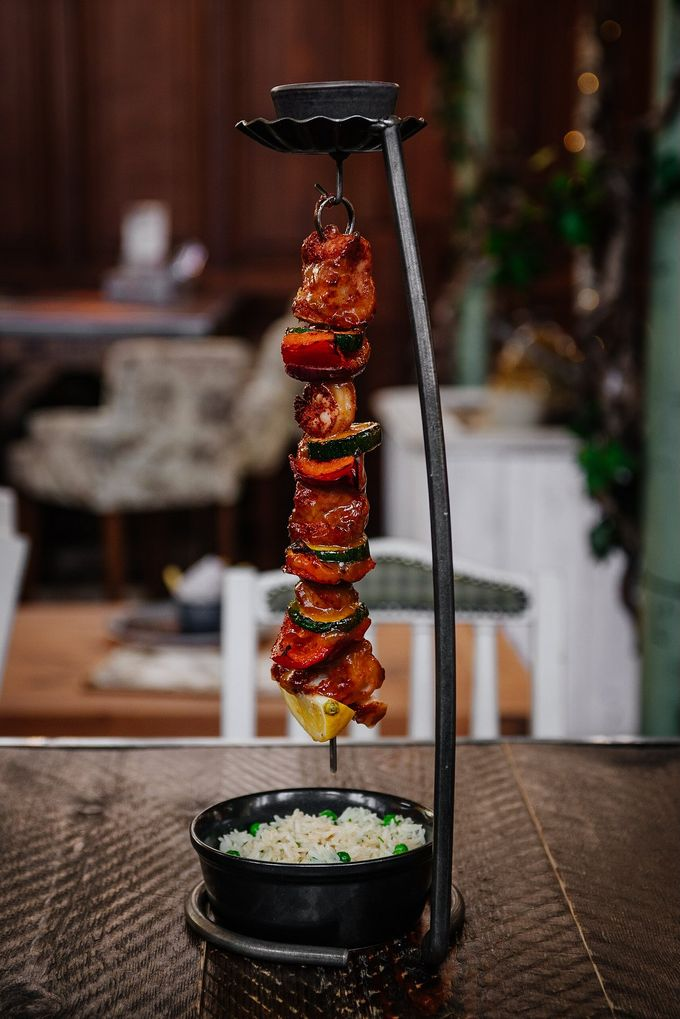 Try one of The Botanist's famous hanging kebabs with any cocktail for just £15.