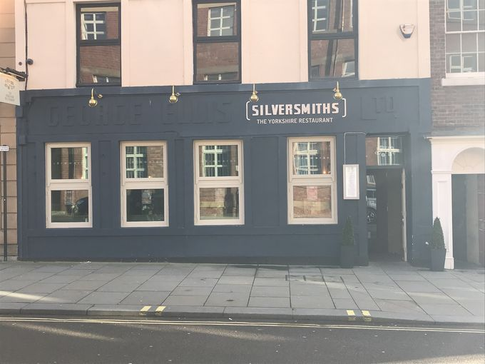 Silversmiths on Arundel Street, Sheffield, vegetarian and vegan night