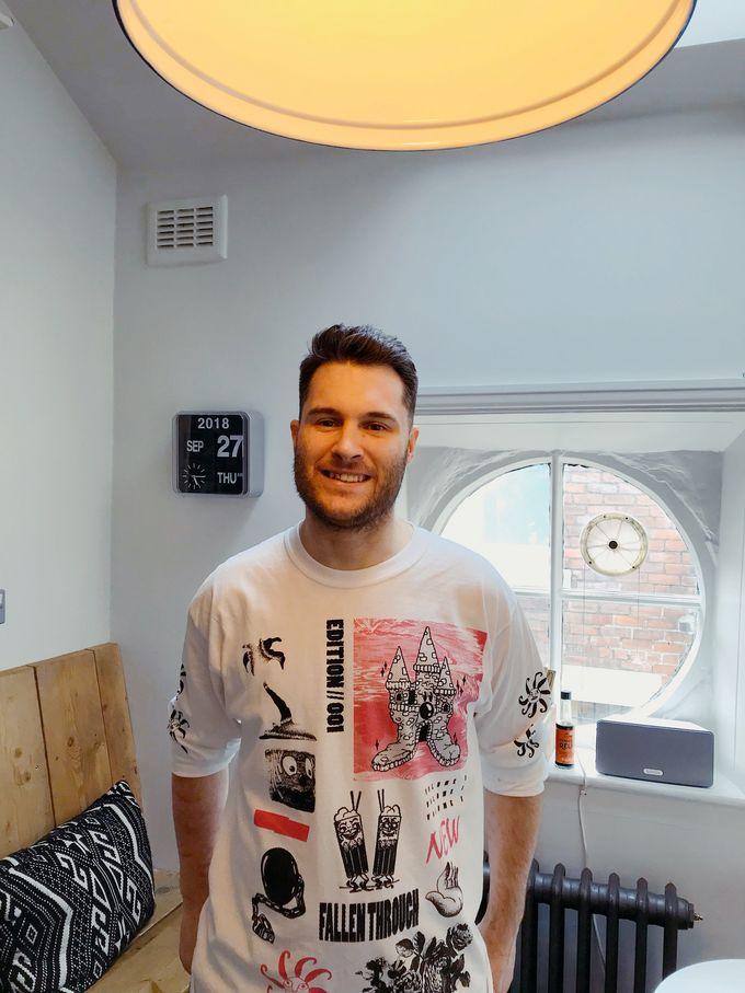 Meet Matt. He's the head chef at Marmadukes on Norfolk Row.