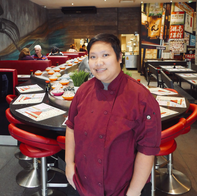 KC has worked at the Campo Lane restaurant for two and a half years.