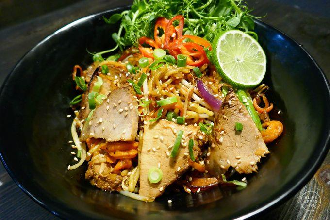 Tuck into a bowl of Cha-Shu pork Yaki tonight