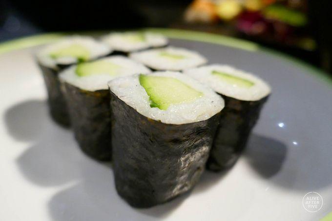 Cute cucumber Maki