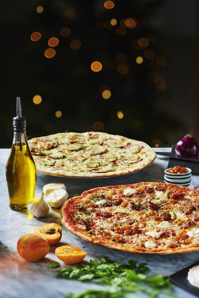 Festive set menu at Pizza Express