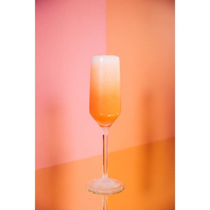 Try Public's classic Bellini for £5 from 4-7pm tonight! Photo by India Hobson