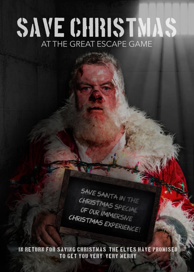 Santa needs savin' this yuletide.