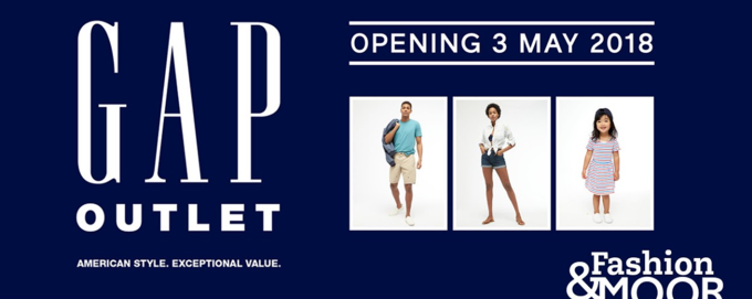 Find your local GAP outlet beneath The Light Cinema